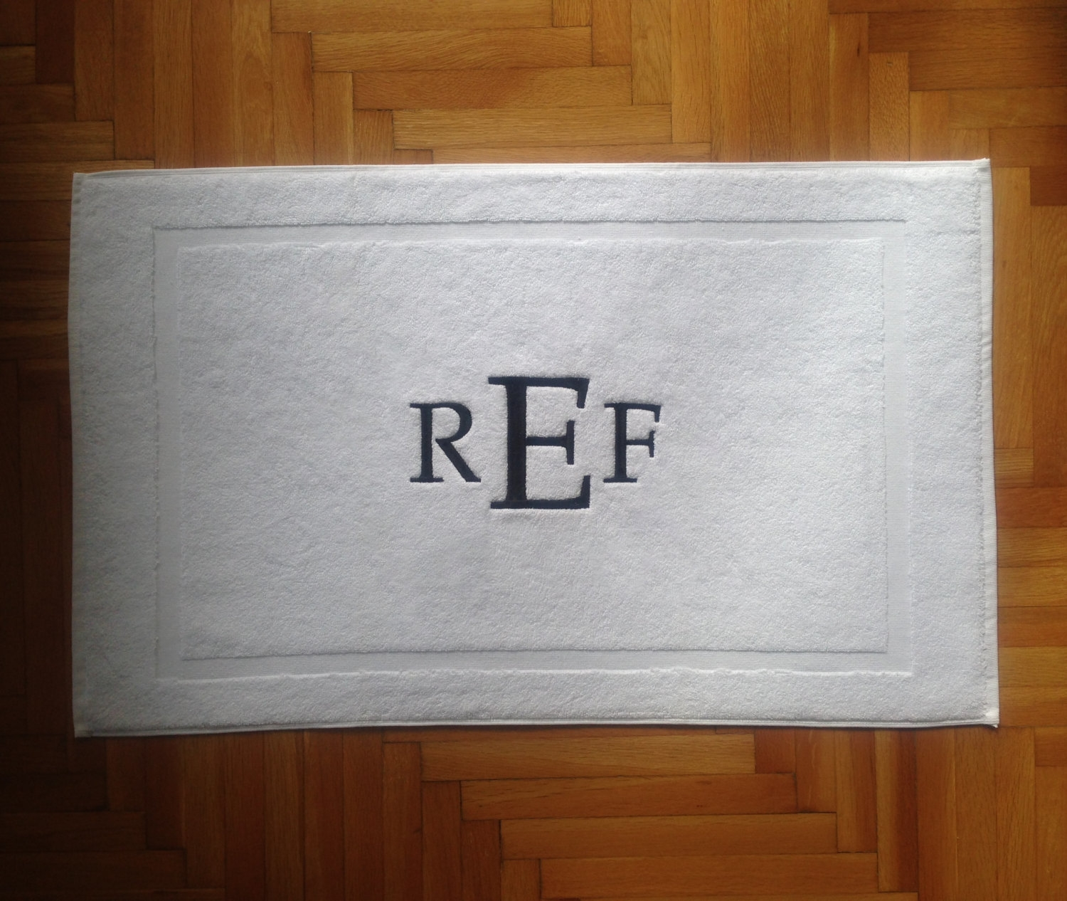 Permalink to Monogrammed Bathroom Rugs
