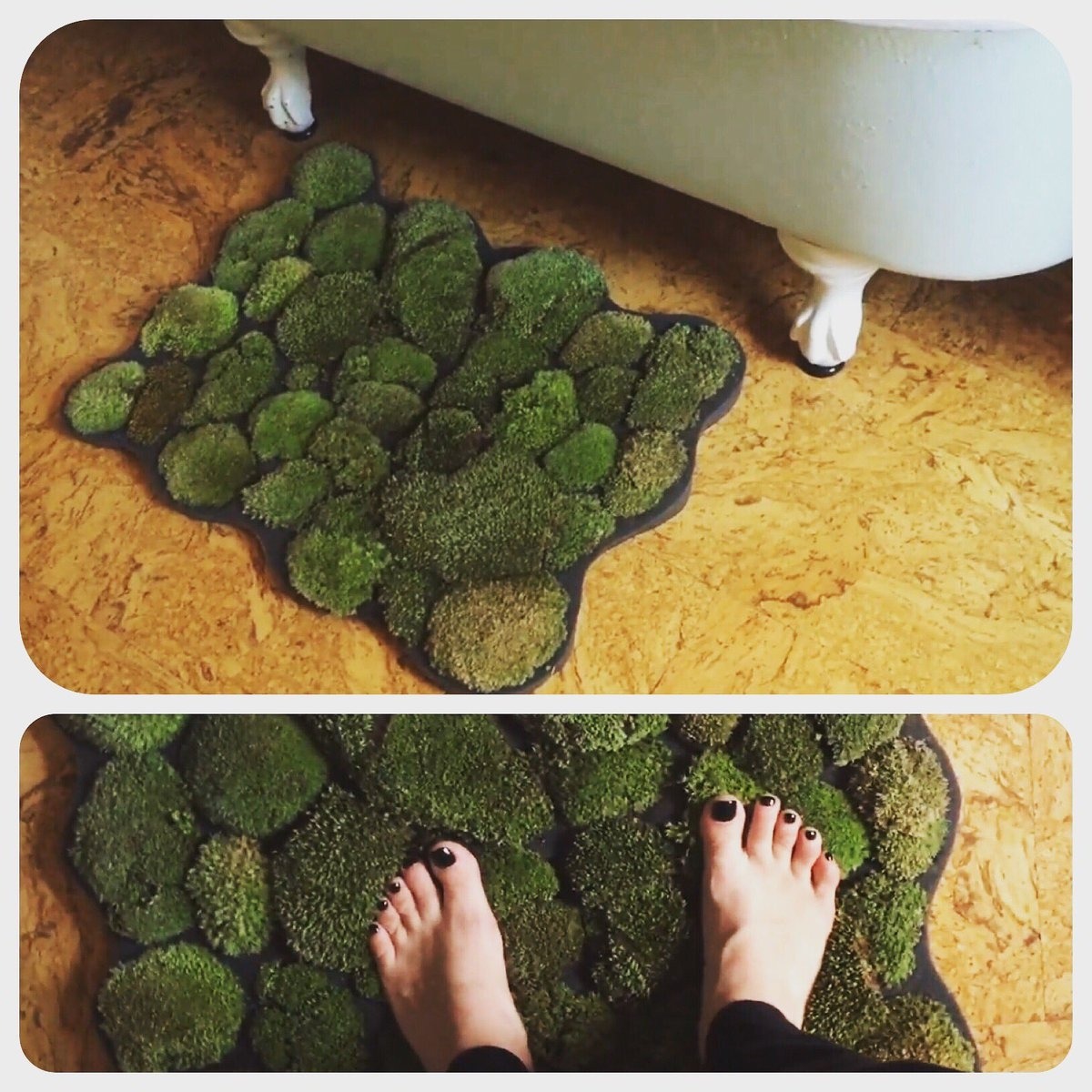 Moss Bathroom Rug