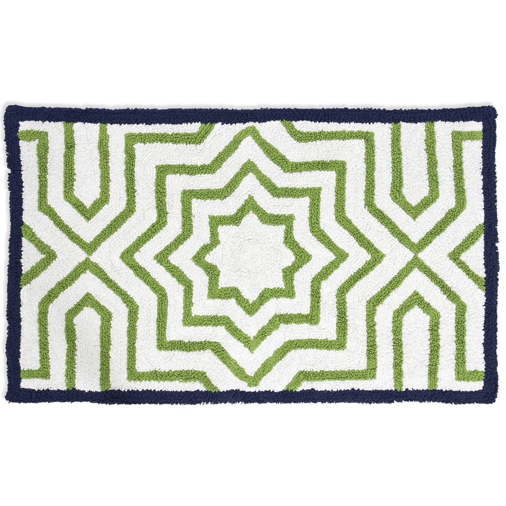 Permalink to Navy & White Bath Rugs