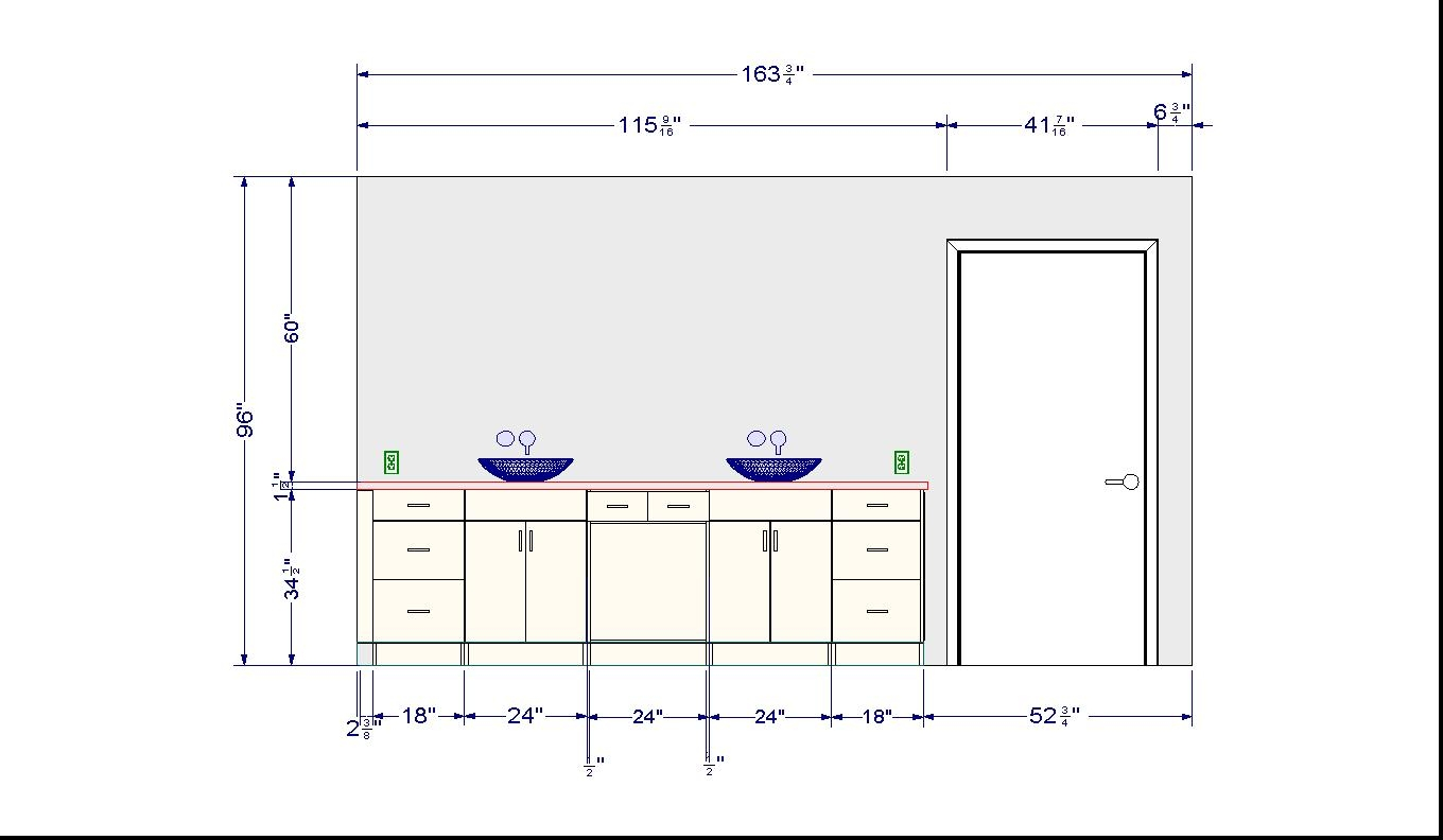 New Standard Height For Bathroom Vanity