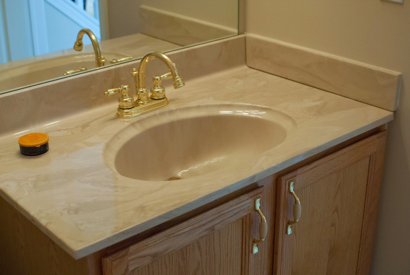 One Piece Bathroom Vanity Tops