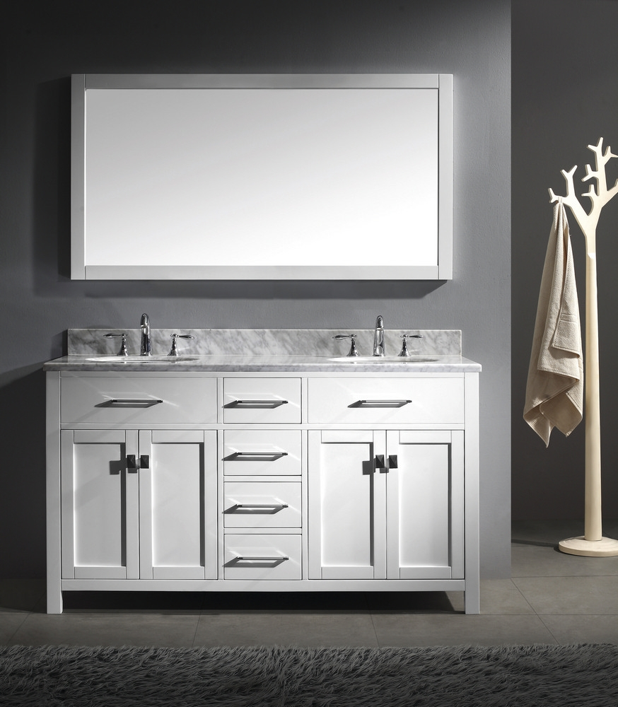 Pictures Of Bathroom Vanities With Two Sinks