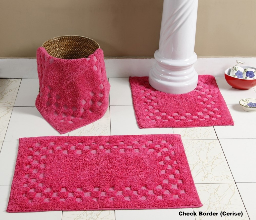 Permalink to Pink Bathroom Mat Sets