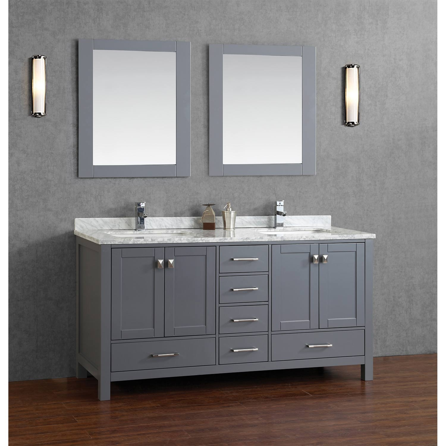 Real Wood Bathroom Vanity Units
