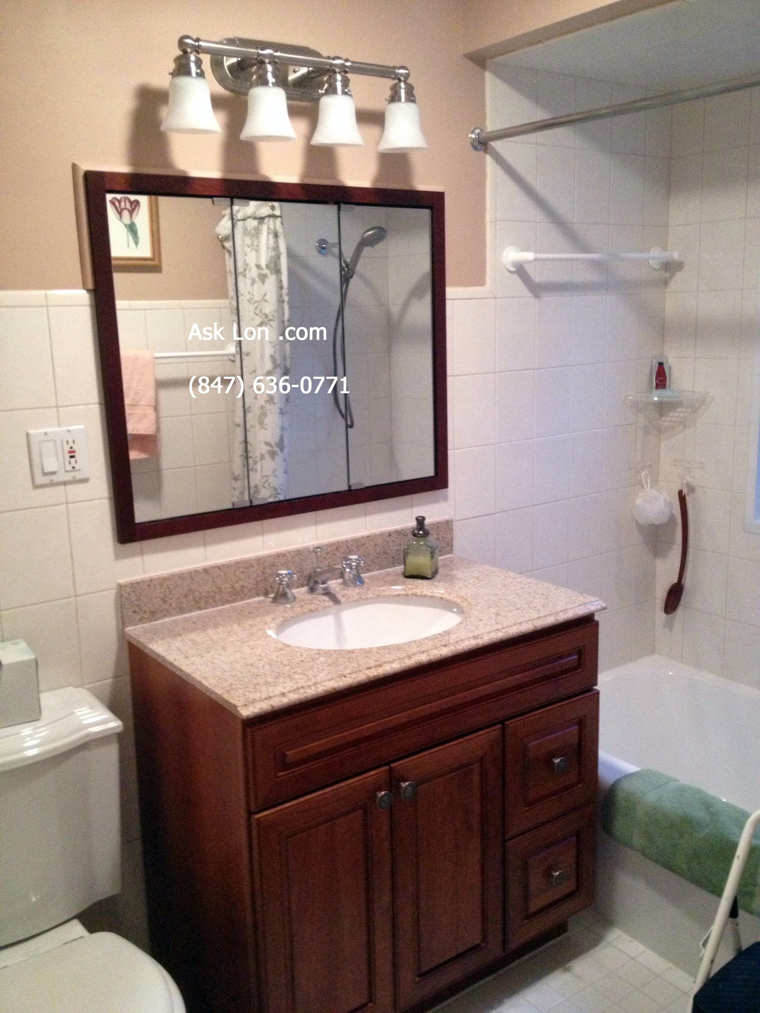 Recommended Height For Bathroom Vanity Lights