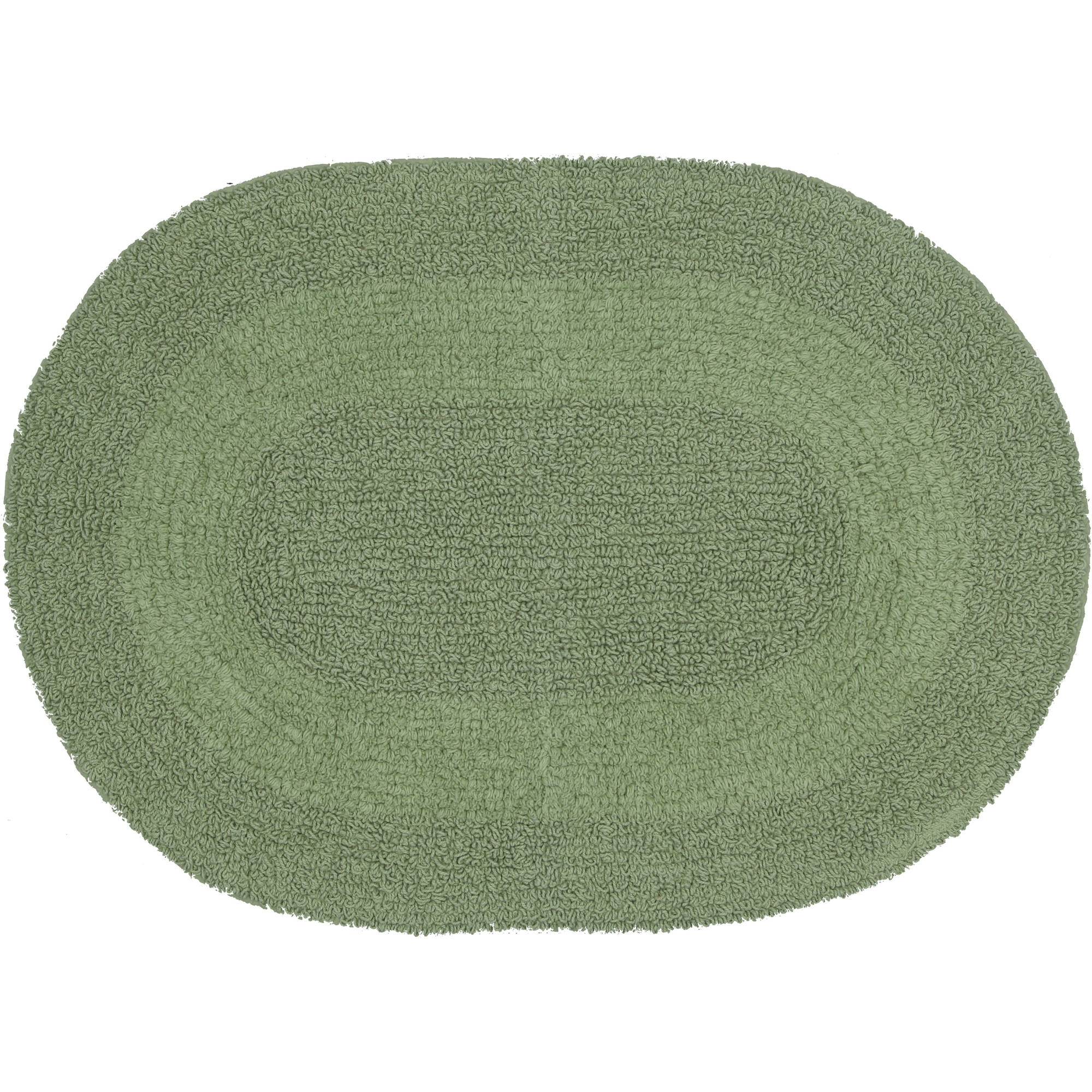 Reversible Oval Bath Rugs