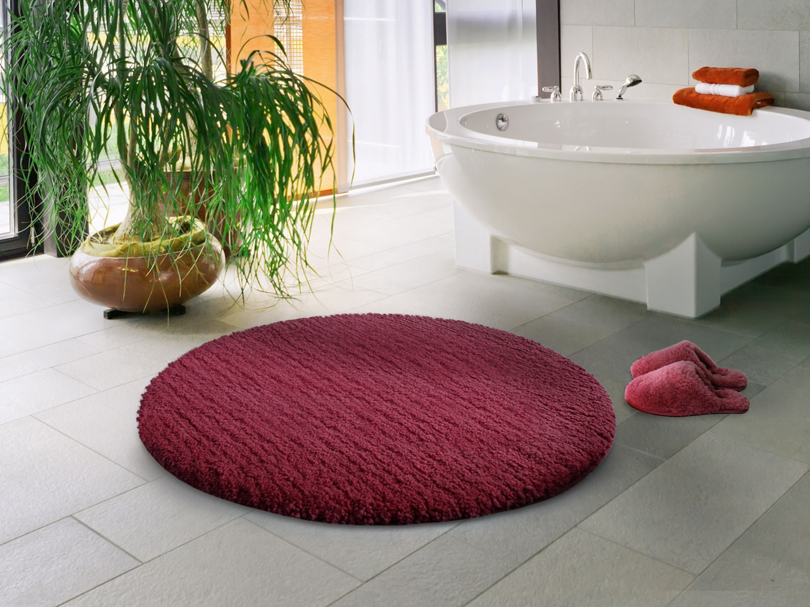Round Bath Rugs Redred bathroom rugs and mats bathroom trends 2017 2018
