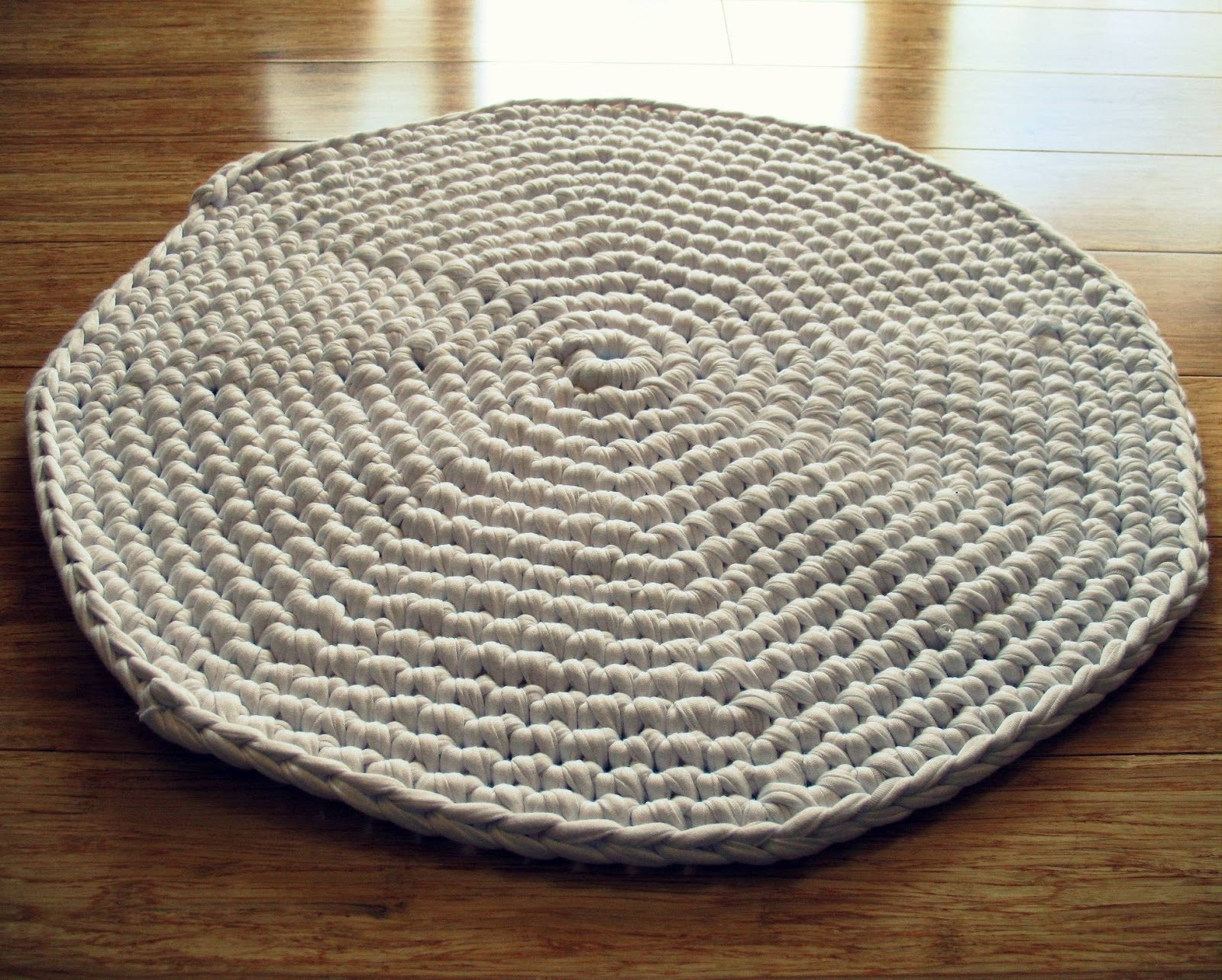 Permalink to Round Crochet Bath Rug