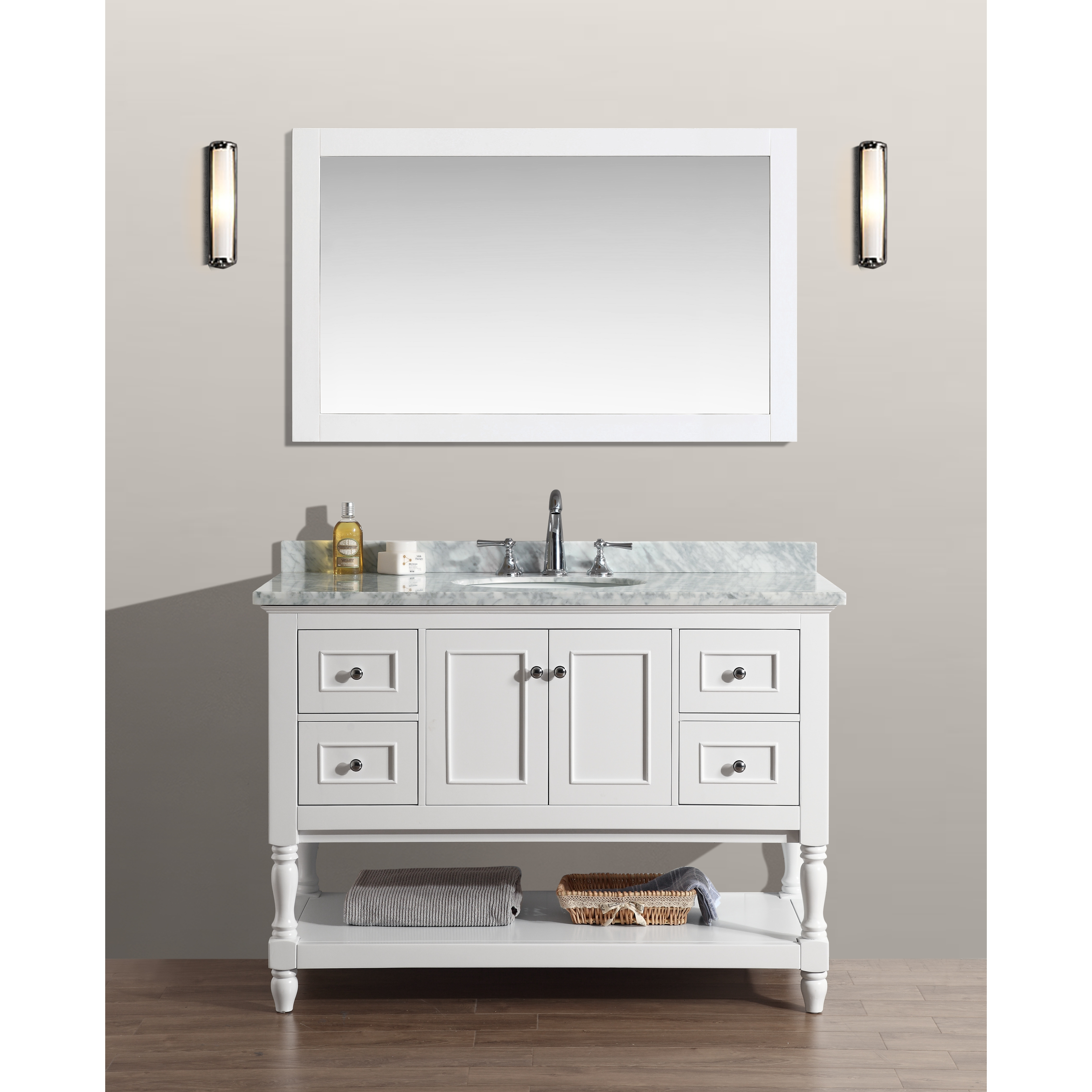 Scratch And Dent Bathroom Cabinets