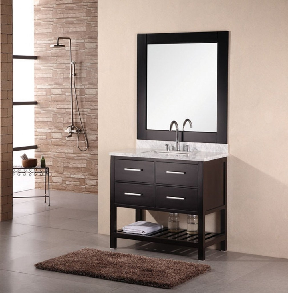 Single Vanities For Small Bathrooms