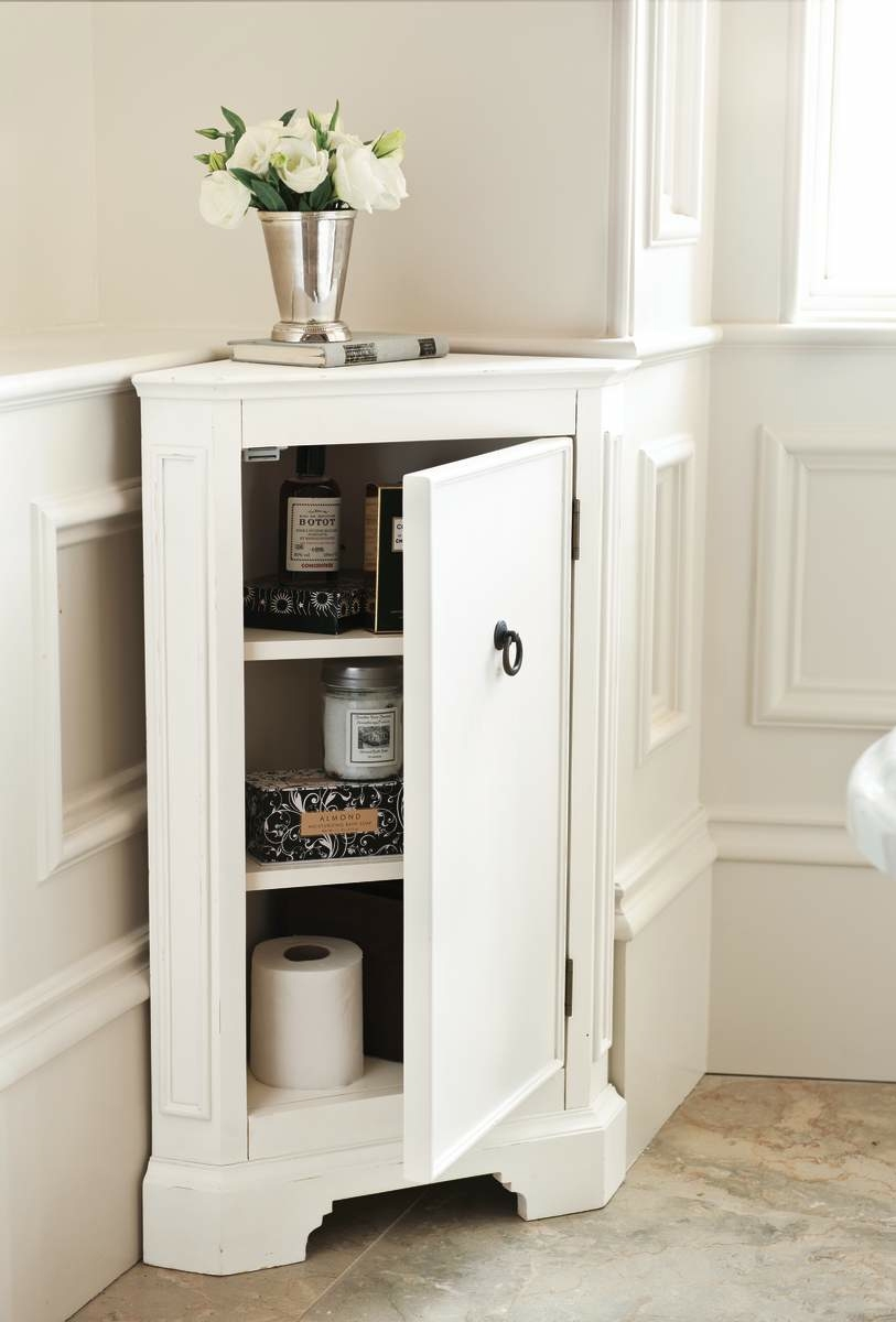 Small Corner Cabinets For Bathrooms