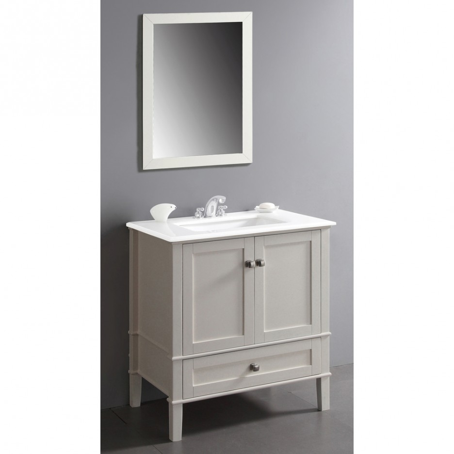 Small White Vanity Drawers