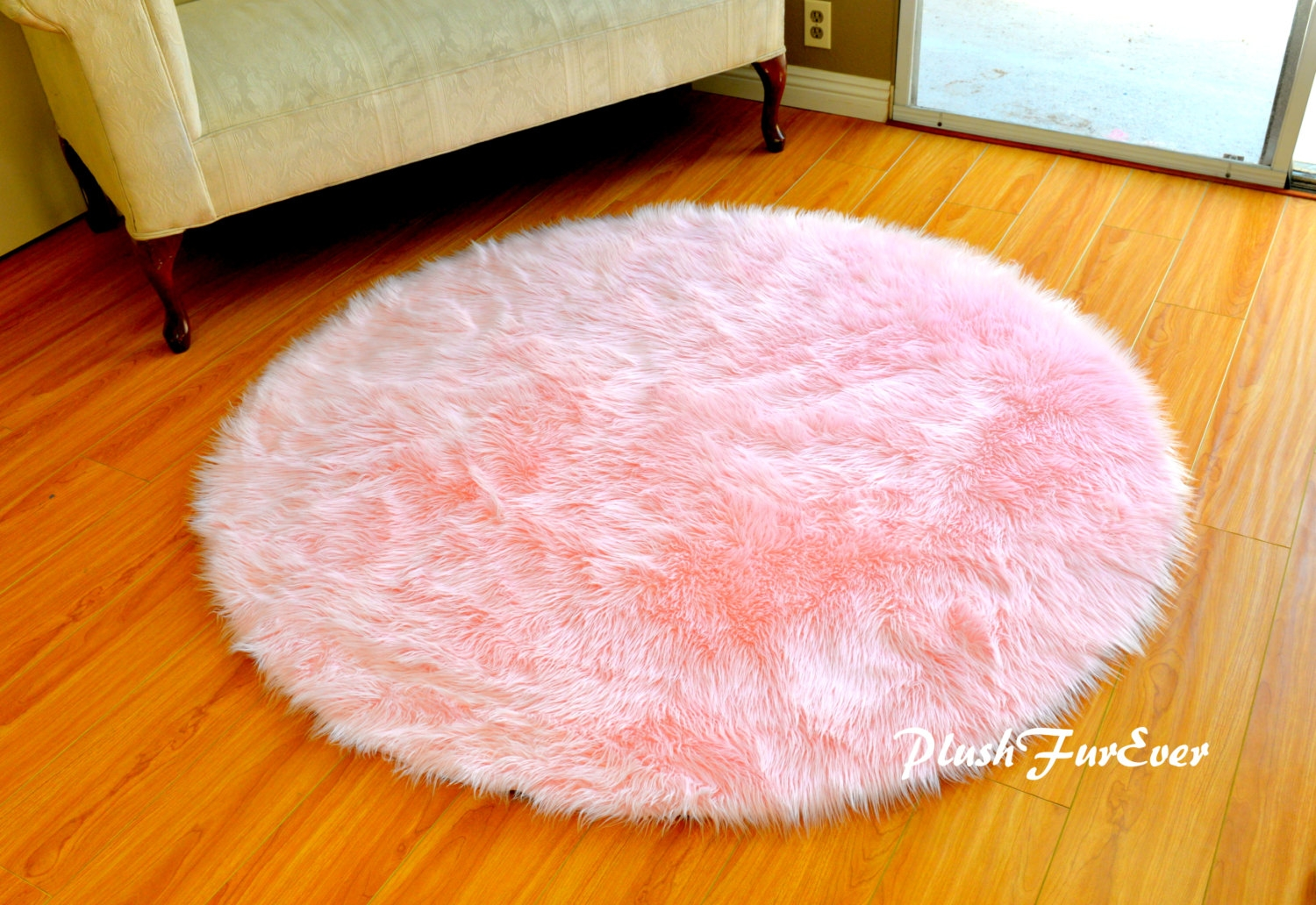 Soft Pink Bathroom Rugs