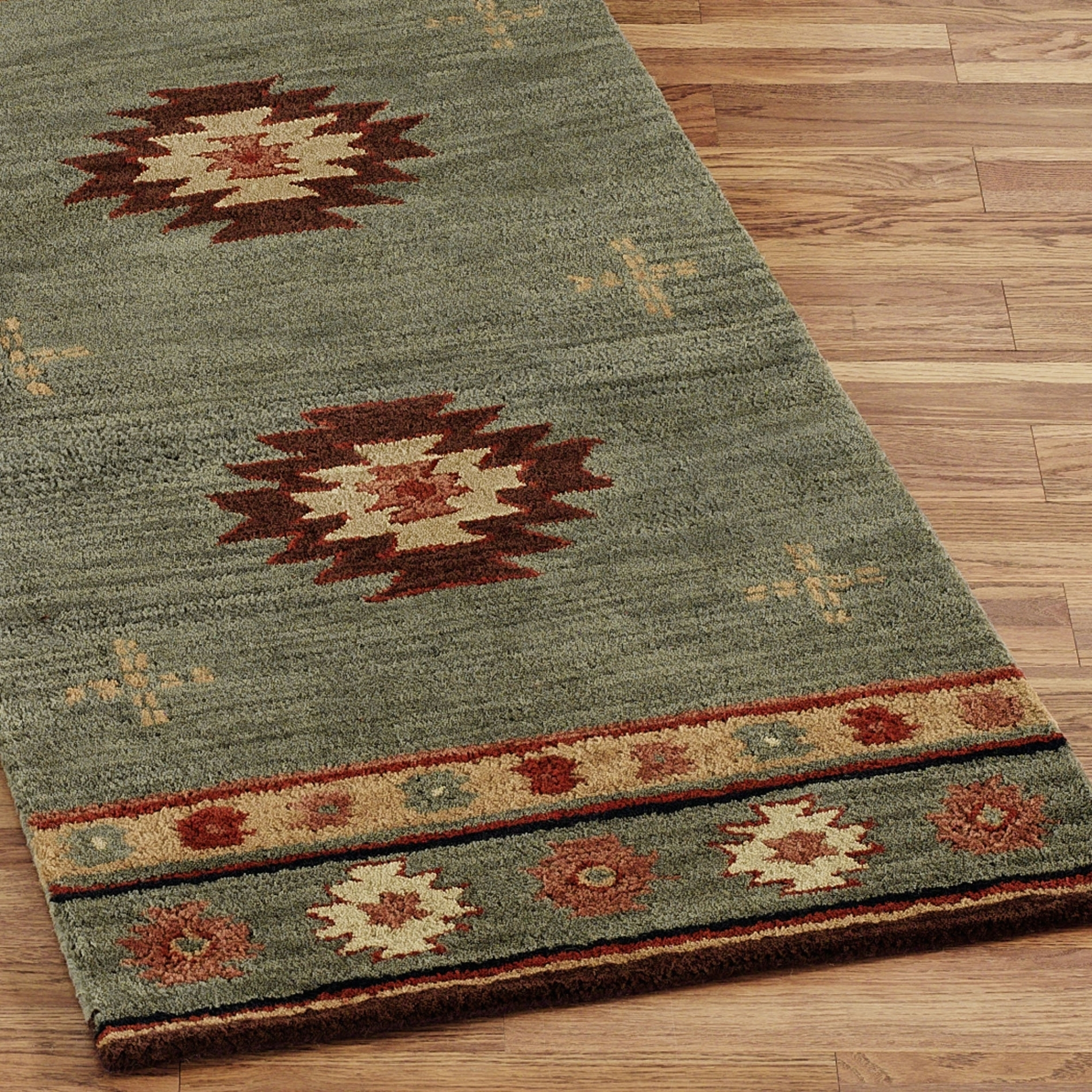 Southwestern Bath Rug Sets
