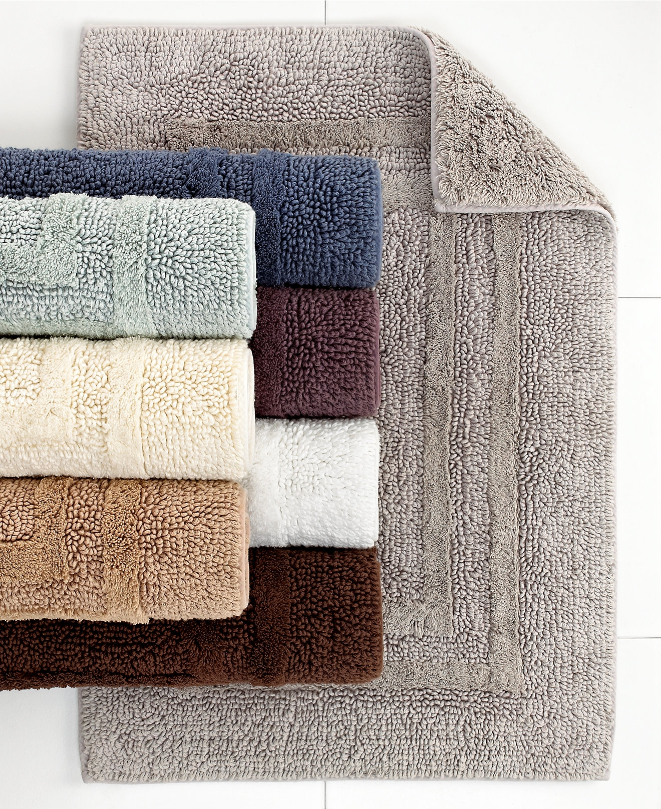 Taupe Color Bathroom Rugs