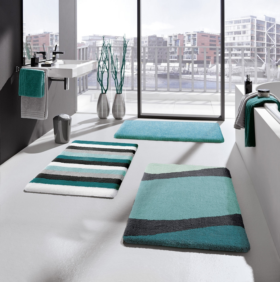 Permalink to Teal And Gray Bathroom Rugs