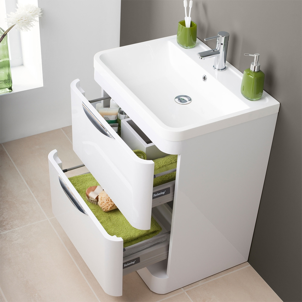 Vanity Units With Drawers For Bathroom