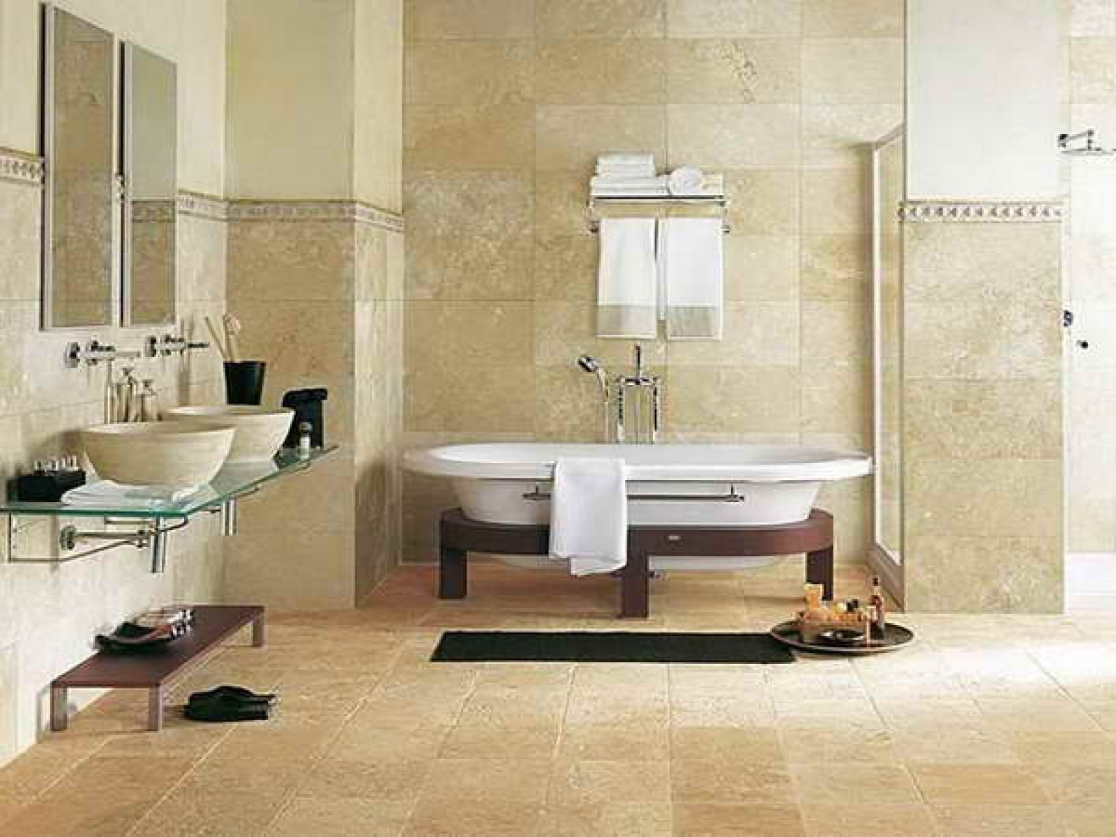 Wall To Wall Bathroom Rug
