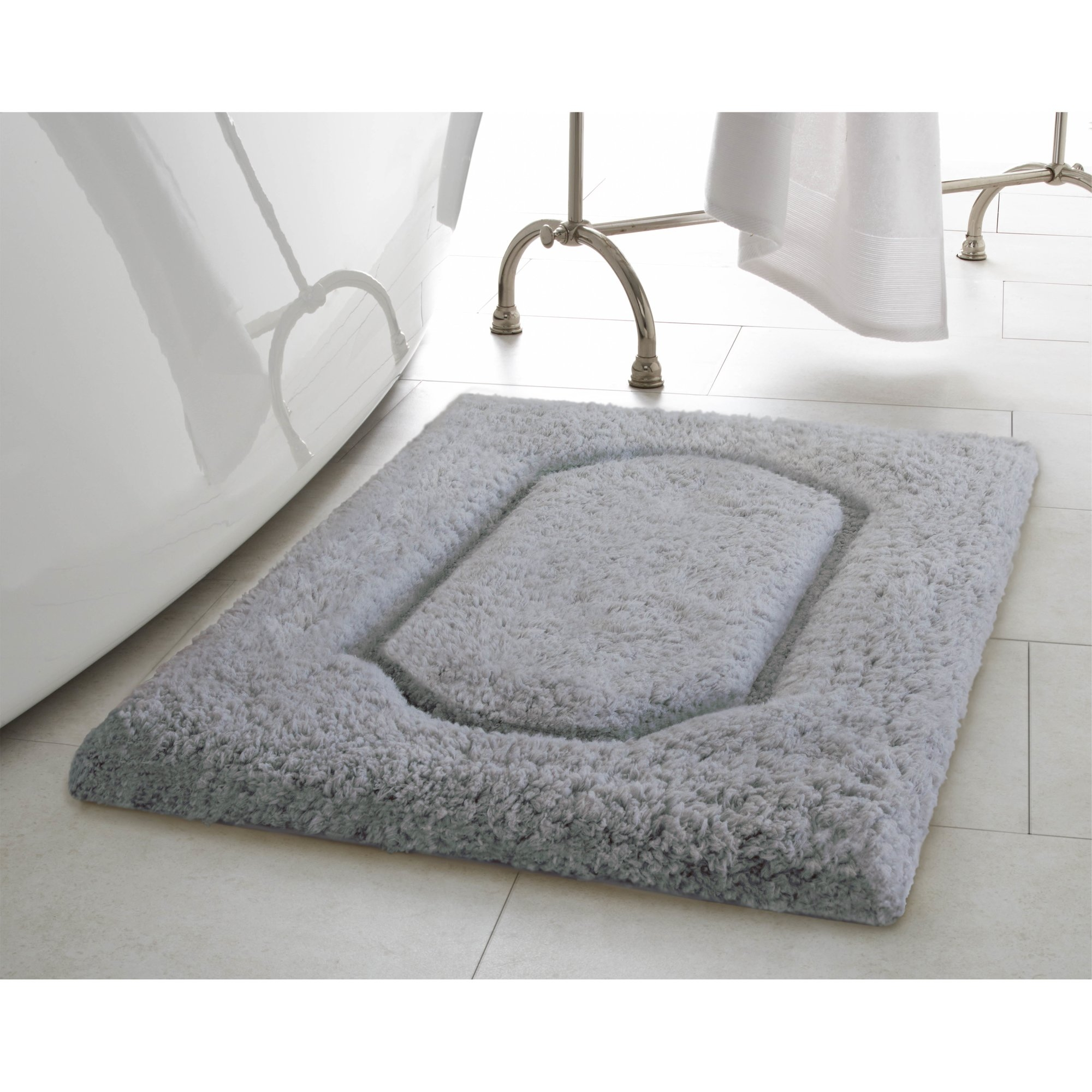 Permalink to White Plush Bathroom Rugs