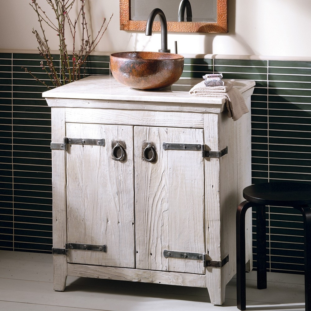 Whitewash Bathroom Vanity