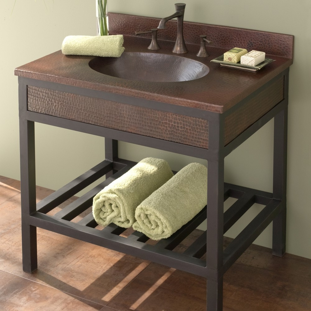 Wrought Iron Bathroom Sink Vanities