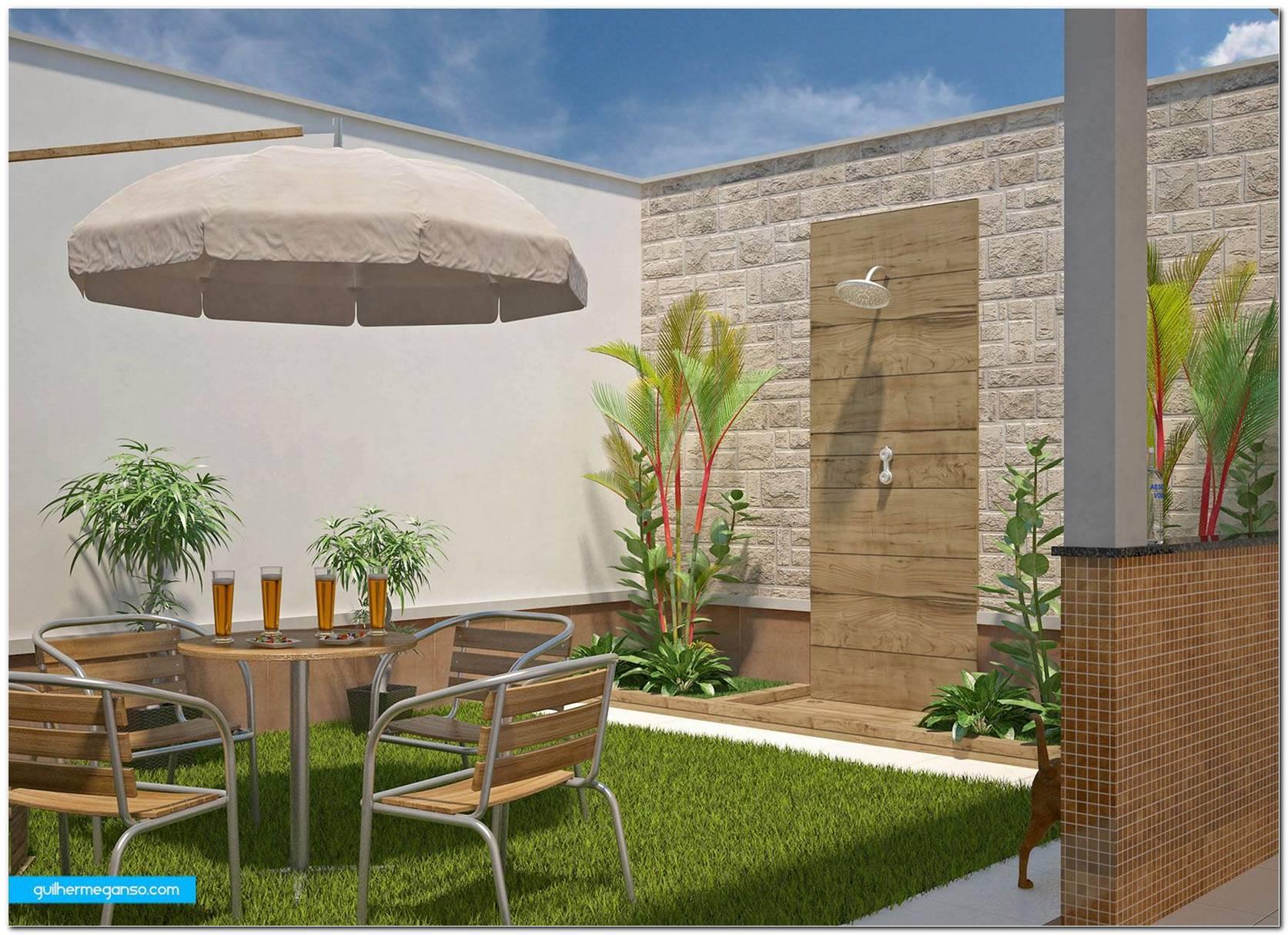 Área De Lazer Pequena 60 Projetos Modelos E Fotos