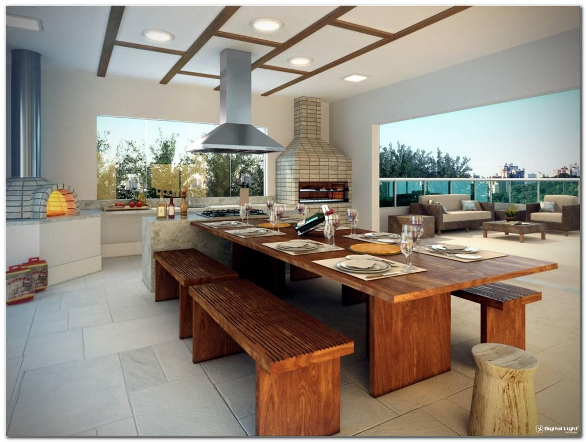 Área Gourmet Moderna 50 Decorações E Dicas Espetaculares