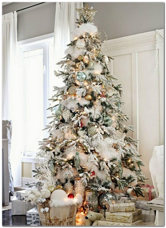 Árvore De Natal Branca 65 Ideias Incríveis E Originais Para Decorar