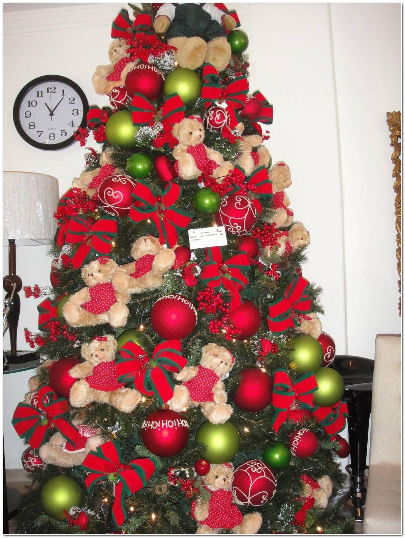 Árvore De Natal Com Laços 50 Modelos Lindos Para Essa Data Especial