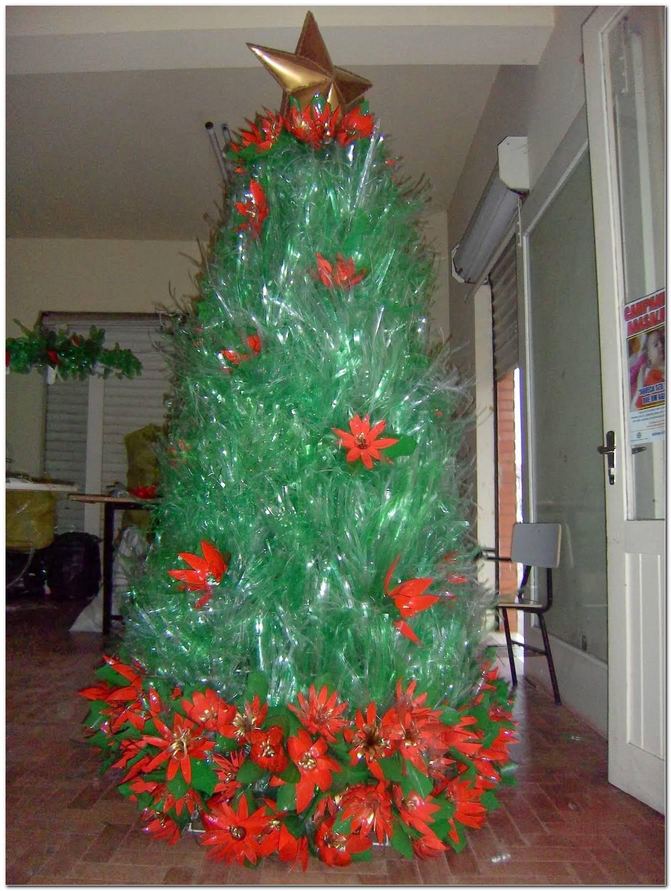 Árvore De Natal De Garrafa Pet Veja Como Fazer