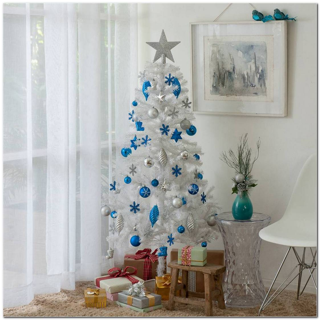 Árvores De Natal Branca
