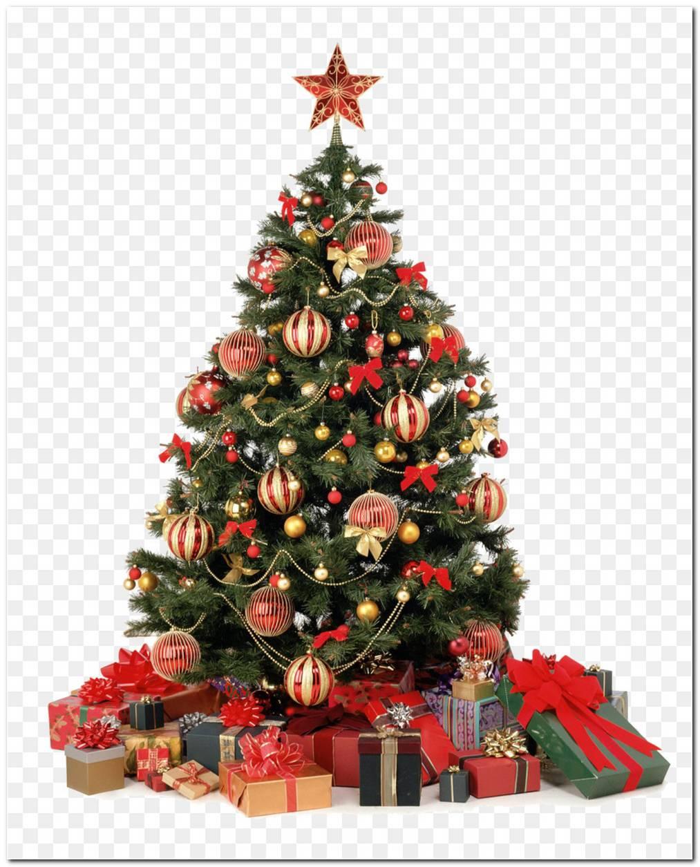 Árvores De Natal Com Presentes