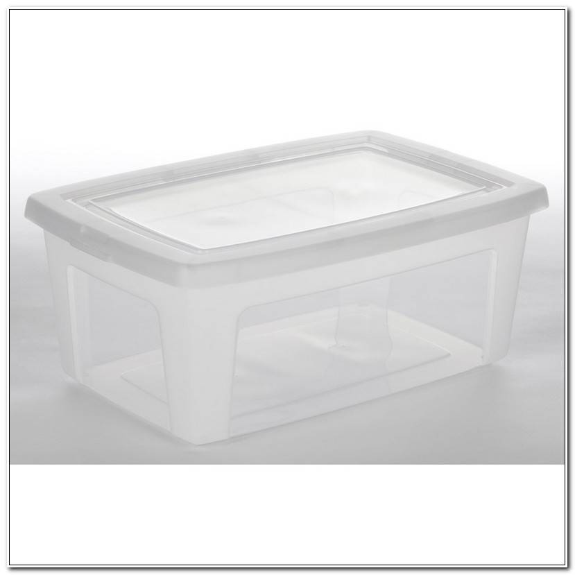 ÉLéGant Boite De Plastique Rangement