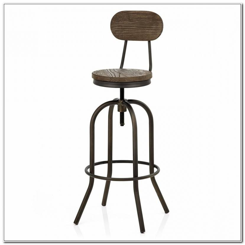 ÉLéGant Chaise De Bar Vintage