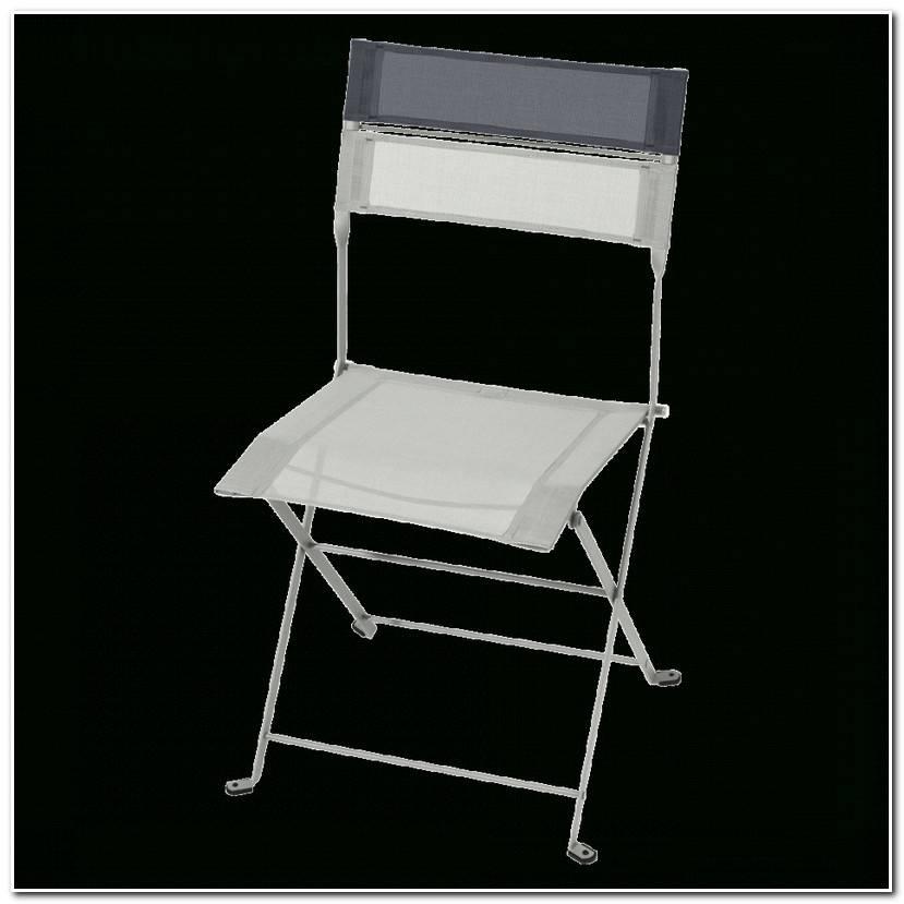 ÉLéGant Chaise Pliante Metal