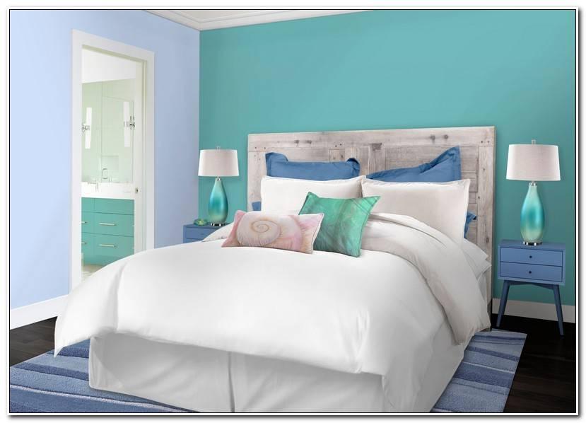 ÉLéGant Chambre Bleu Turquoise