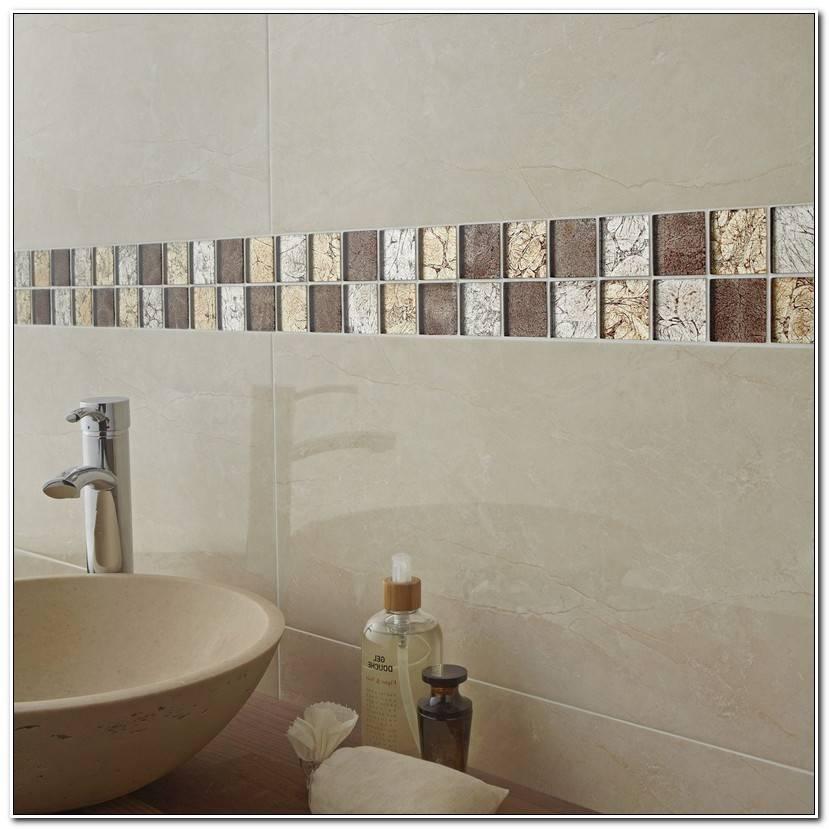 ÉLéGant Frise Mosaique Salle De Bain