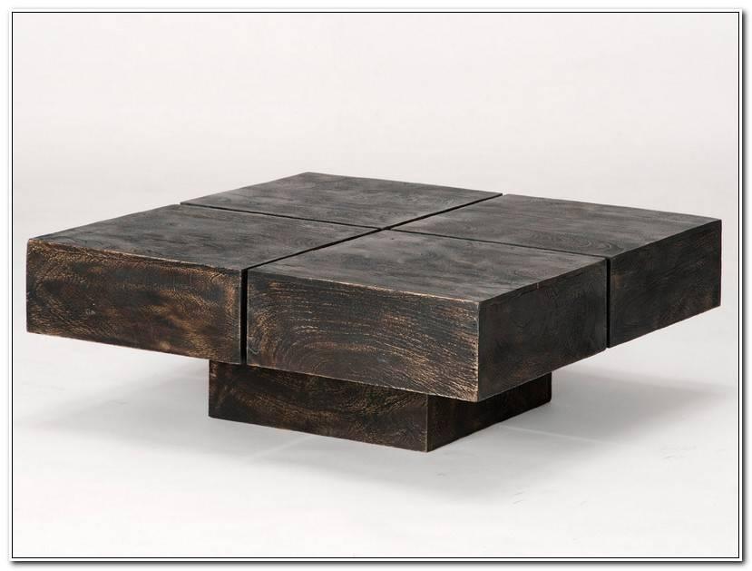 ÉLéGant Table Basse Cube