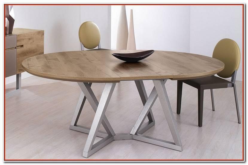 ÉLéGant Table Ovale Avec Rallonge
