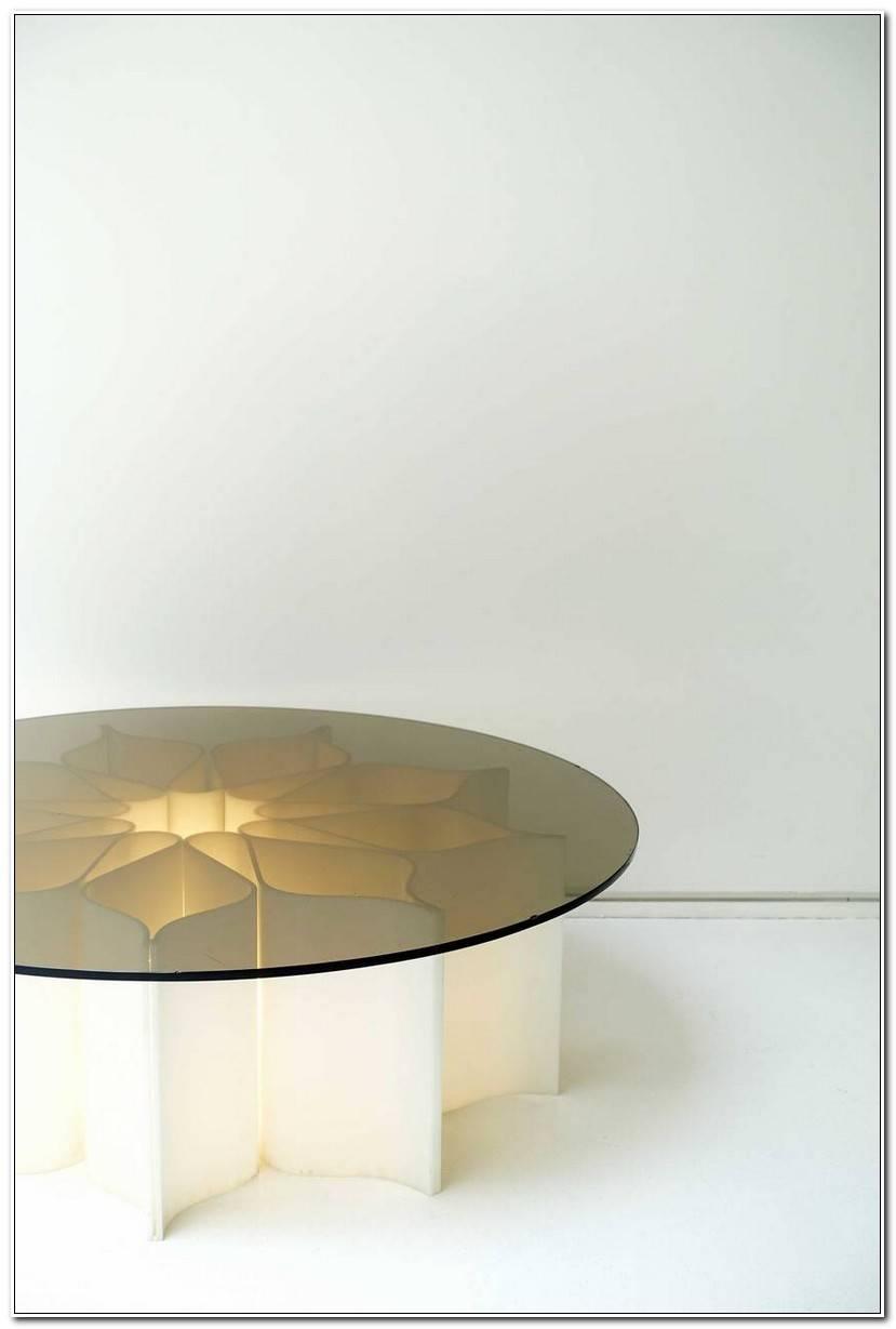 Élégant Table Basse En Pierre