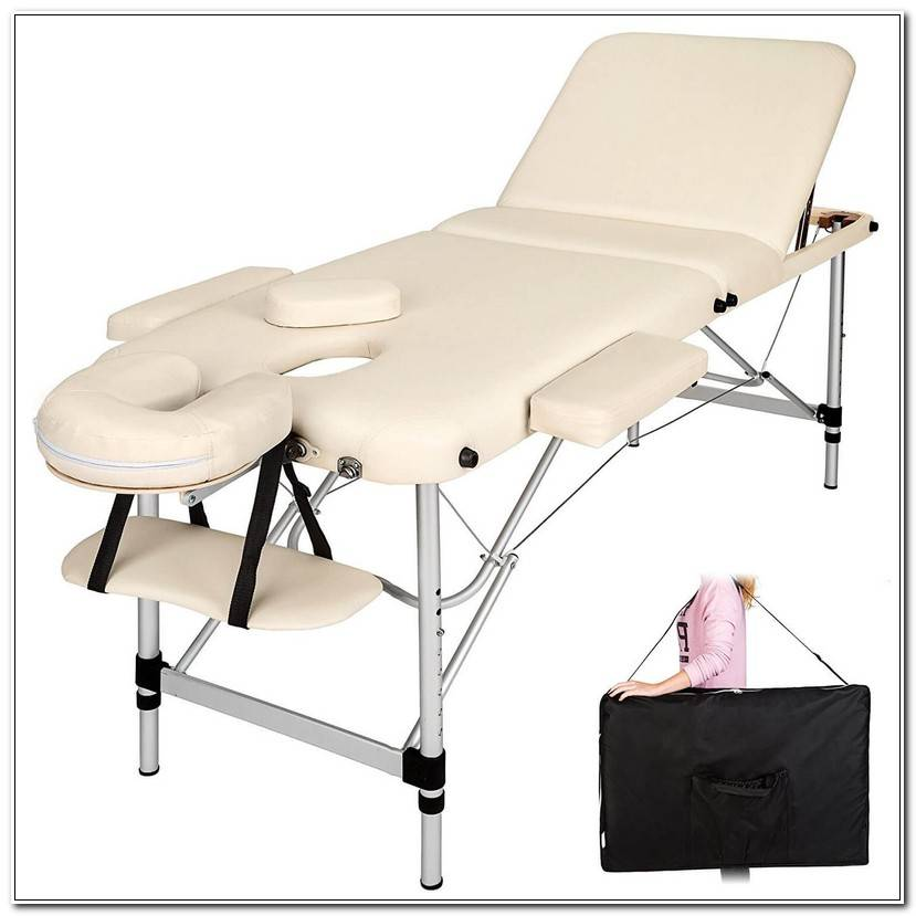 Élégant Tectake Table De Massage