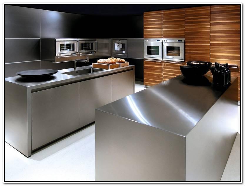 Único Cocinas De Acero Inoxidable Colección De Cocinas Decorativo