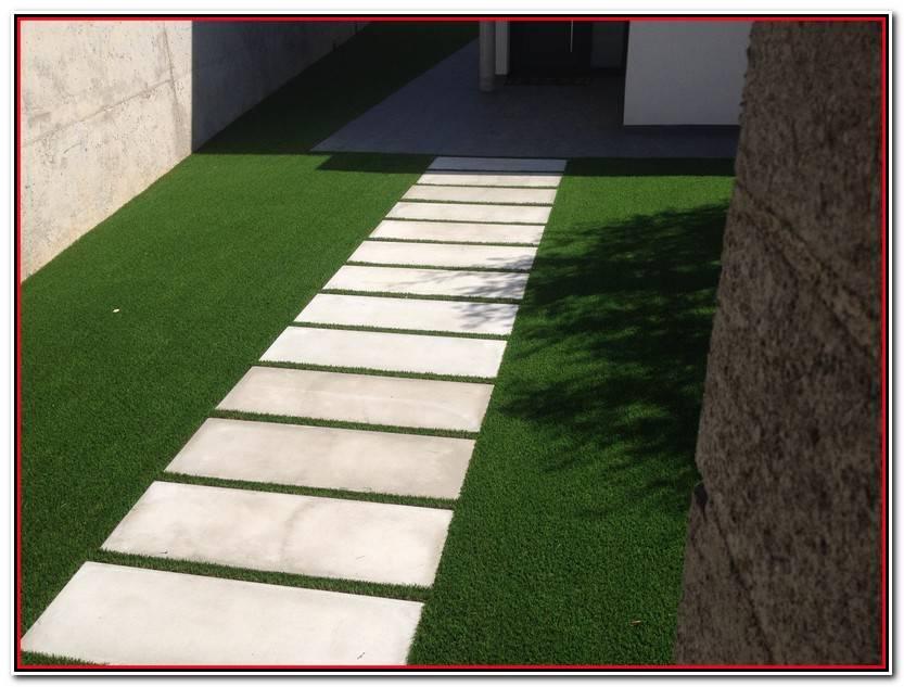 Único Losas De Hormigon Para Jardines Imagen De Jardín Decorativo