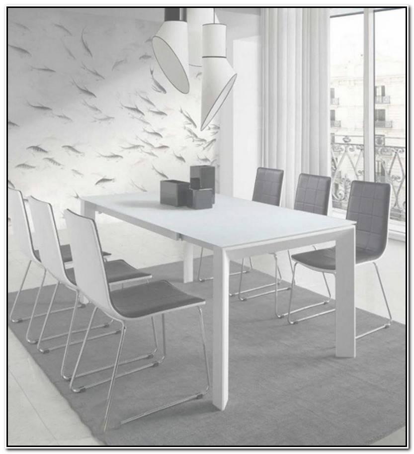 Único Mesas De Comedor Blancas Galería De Comedor Decorativo