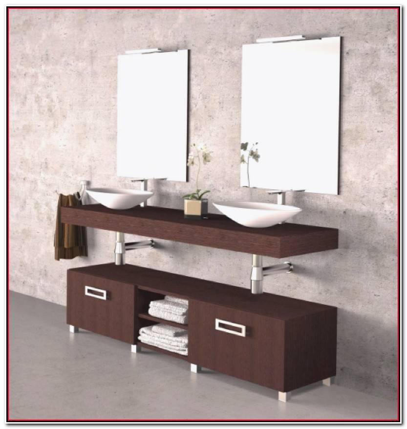 Único Mueble Baño Lavabo Sobre Encimera Fotos De Baños Ideas