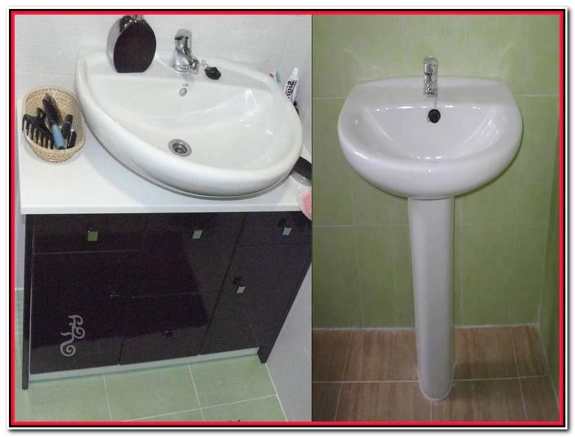 Único Muebles De Baño Para Lavabos Con Pie Imagen De Baños Ideas