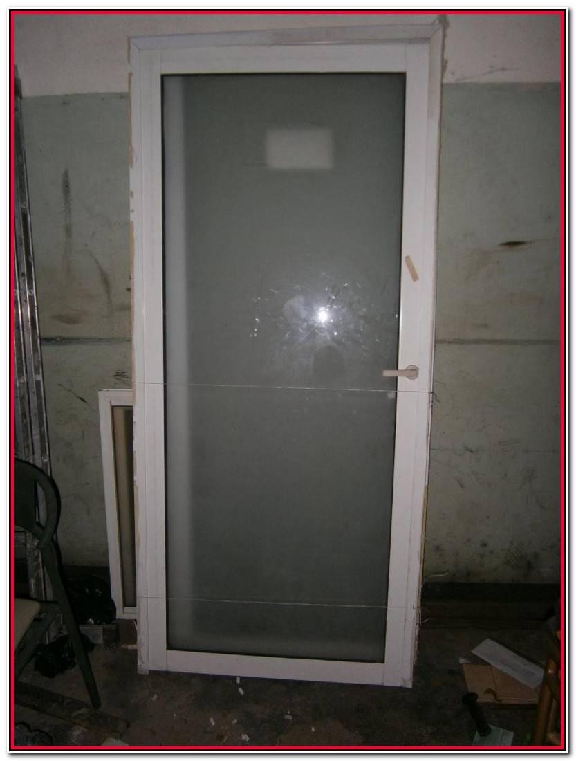 Único Puerta Aluminio Blanco Fotos De Puertas Decoración
