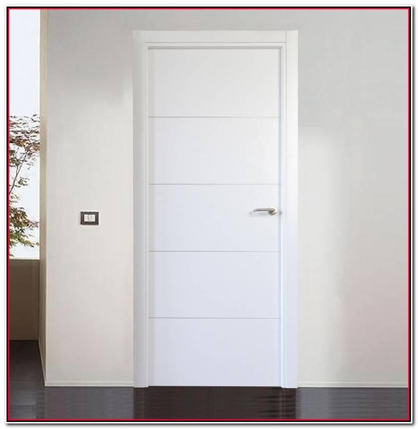 Único Puertas Blancas Modernas Colección De Puertas Idea