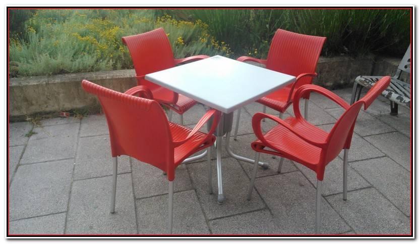 Único Vendo Mesas Y Sillas Para Terraza De Segunda Mano Galería De Mesas Decoración