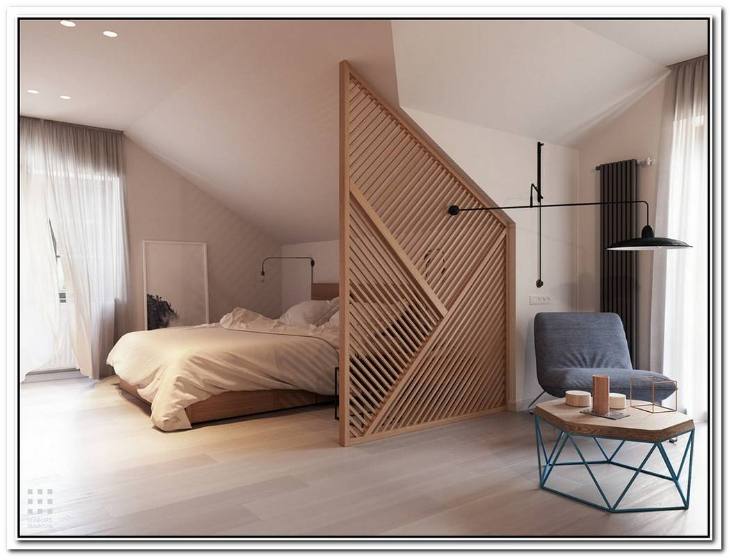 10 Of The Most Modern Wall Dividers For Bedrooms